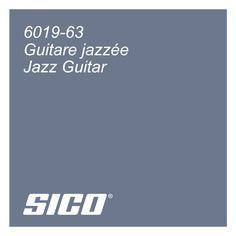Jazz Guitar paint colour by Sico Paints | Guitare Jazzée, couleur de peinture par Sico