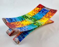 Fused glass art - JLS Glass Studio