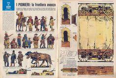 Corrierino e Giornalino: I pionieri: la frontiera avanza