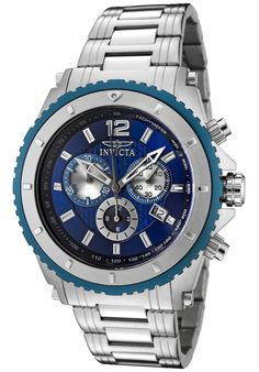 Price:$119.00 #watches Invicta 1009, With a bold, masculine design, Invicta chronograph has a poised and calm ambience that's sure to have you looking twice.