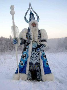 """This is """"Grandfather Frost,"""" from Russia."""