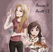 Anett és Ancsa <3 Cool Girl Drawings, Minecraft, Snapchat, Anime, Fictional Characters, Girls, Youtube, Art, Toddler Girls