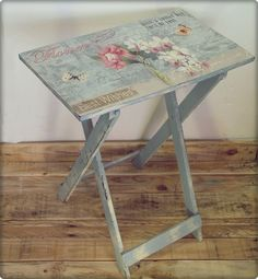 DECOUPAGE in FURNITURE   THE SOULOUPOSE