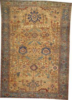 Lot 2012. A BAKSHAISH CARPET Northwest Persia size approximately 9ft. 2in. x 13ft. Bonhams 'Fine Oriental Rugs  Carpets 18 March 2014 in Los Angeles