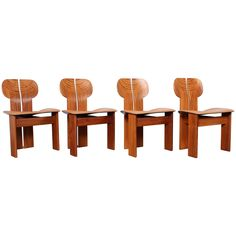 Four Africa Chairs by Afra
