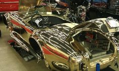 Kirkham Motorsports. - not all Cobras require a paint job, some are perfect just as they are...