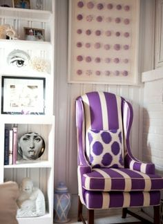 Coastal Living with Radiant Orchid Purple -Pantone Color of 2014