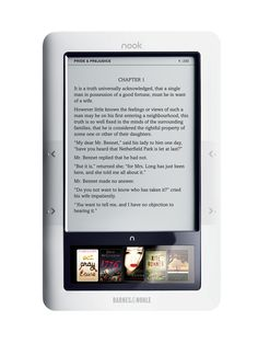 I love my Nook! I have always been a big reader since I was little and the nook was the best gift ever !