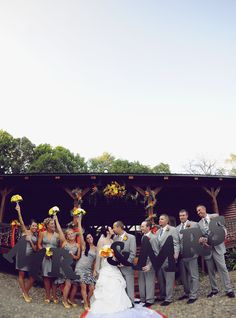 An Outdoor Hunting-themed Wedding in Oklahoma Wedding Dreams, Dream Wedding, Initial Decor, Hunting Wedding, Grown Up Parties, Fun Group, Themed Weddings, Make Photo, Party Photos