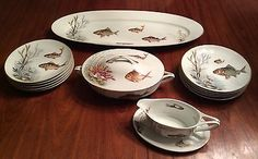 Rosenthal fish set