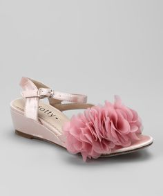Take a look at this Pink Natala Wedge Sandal on zulily today!
