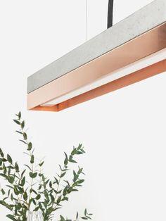 Gibts auch in Kurz: #beton & #kupfer. #design #interiordesign #einrichtung #lampen #lamps #light #licht #industrial #gantlights