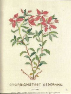 Wild Flowers in Cross-Stitch (27)