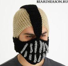 """Шапка """"Бейн"""" - Beard Season - изделия ручной работы"""