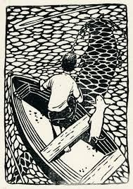 one of Kelly Dyson's lovely linocuts | black and white ...