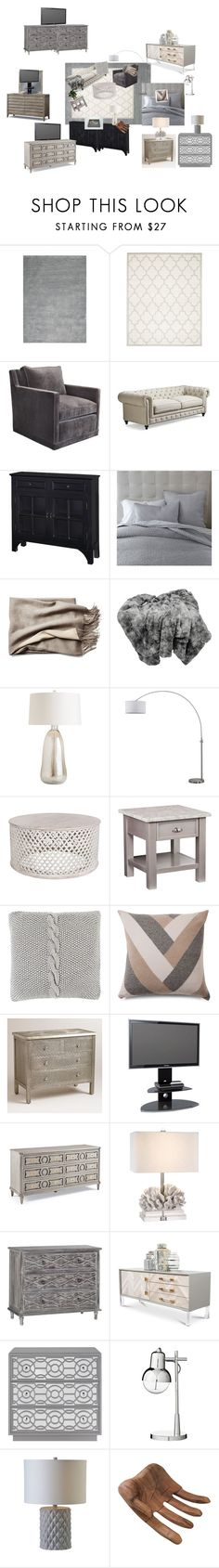"""""""Living space 2"""" by taya-4 on Polyvore featuring interior, interiors, interior design, home, home decor, interior decorating, Home Decorators Collection, Safavieh, Frontgate and Powell Furniture"""