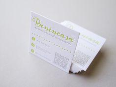 Benincasa Letterpress Business Card