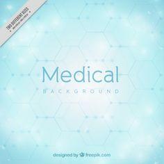 Light Blue Medical Background Free Vector