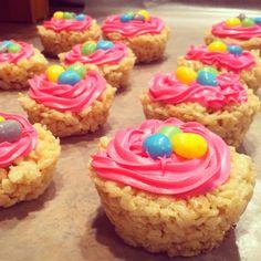 Easter rice krispie treats!