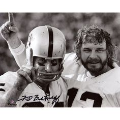"Fred Biletnikoff Oakland Raiders Fanatics Authentic Autographed 8"" x 10"" with Stabler Photograph"