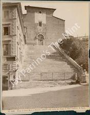 AHA-054 Vintage Photo- Church of Santa Maria in Aracoeli, Rome, Italy