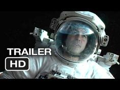 Gravity Teaser Trailer (2013) -Sandra Bullock and George Clooney.  Excellent movie.  I saw it last night.  <3k<3