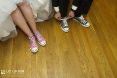 A Fun & Personal Touch! - Liz Linder Photography #aldencastle #modernvintage #weddings #bostonweddings #converse