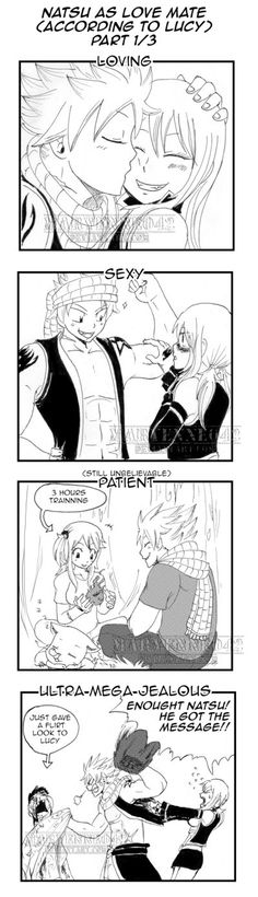 Natsu as love mate (according to Lucy) part 1/3 by Maryenne042.deviantart.com on @deviantART