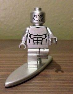 Lego Custom Marvel Super Hero Silver Surfer Minifigure | eBay