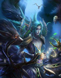 Night elf druid - WoW