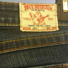 Authentic True religion jeans boot cut like new wore maybe 3 times .. great deal True Religion Jeans Flare & Wide Leg
