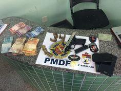 Foto: PMDF/internet/reprodução.     Na tarde deste domingo de Natal (25), por volta das 16h, polic...