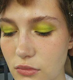 #green #backstage #beauty #makeup #editorial #magazine #photographer #hair #stylist #photographer