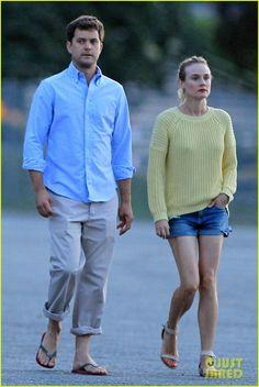Diane Kruger & Joshua Jackson: Sunset Stroll in Vancouver!