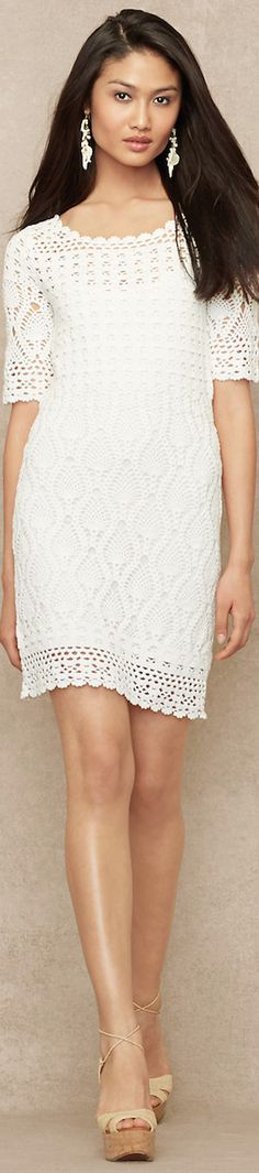 LOOKandLOVEwithLOLO: Ralph Lauren White Summer Essentials - perfect - now if  could only find a pattern