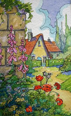 Behind the Garden Wall Storybook Cottage Series | Flickr - Photo Sharing!