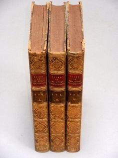 An ESSAY CONCERNING HUMAN UNDERSTANDING - John LOCKE (1832) 3 Vols Leather Bound John Locke, Book Lists, Books, Leather, Libros, Book, Reading Lists, Book Illustrations, Libri