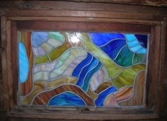 Gallery glass window by B-Brilliant Decorative Painting. Join me on Facebook!