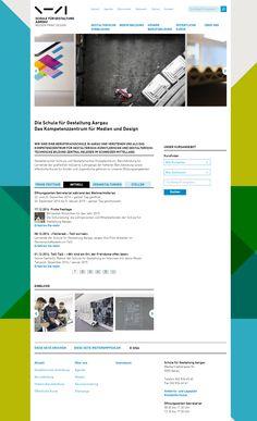 Kurz vor Jahresende noch ein super Projekt welches wir Euch gerne präsentieren: Zusammen mit der Schule für Gestaltung in Aargau haben wir eine Schnittstelle zum vorhandenen Kursverwaltungssystems gemacht um den Anmeldungsprozess zu erleichtern. Im Gesamtpaket mit einem modernen Responsive-Design kann sich die Seite wirklich sehen lassen! http://www.sfgaargau.ch #Referenz #Weblication