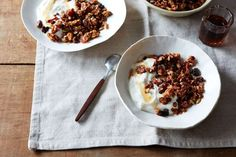 Brown Butter Granola with Honey and Sumac recipe on Food52