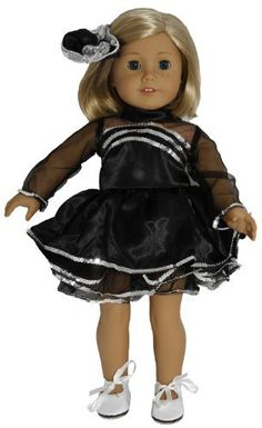 Tap Dance Costume. Tap Shoes Included! Fits 18 Dolls like American Girl® by Wholesale Doll Clothes, http://www.amazon.com/dp/B004URJZR8/ref=cm_sw_r_pi_dp_MtdGrb08HD8J8