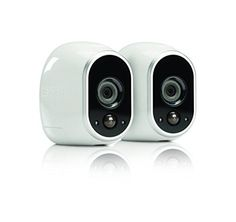 Arlo Smart Home Security Camera System - 2 HD, 100% Wire-Free, Indoor/Outdoor Cameras with Night Vision (VMS3230) by NETGEAR Netgear http://smile.amazon.com/dp/B00P7EVST6/ref=cm_sw_r_pi_dp_MGn5ub0KVAZQV