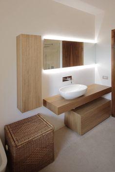 Progetti : Bagno moderno di luigi bello architetto