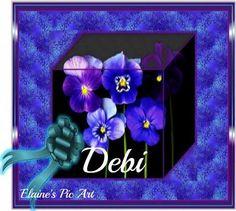 pansies Debi