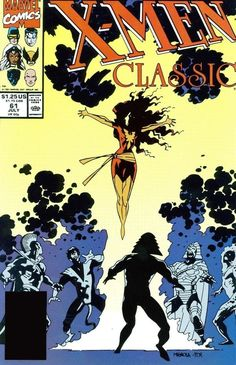 mike mignola x-men cover Phoenix by Mike Mignola