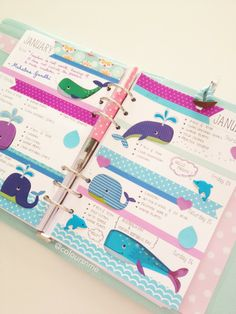 Coloursnme: Kikki-K Large Time Planner : : The beautiful Australian Waters Inspired, celebrating AUSTRALIA DAY