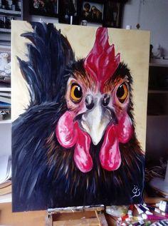 Chicken made by Bianca Schuitemaker