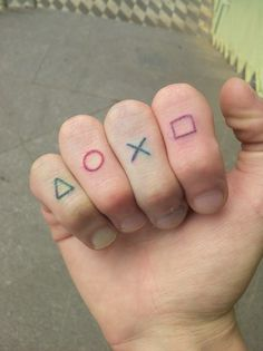 Gamer tattoo