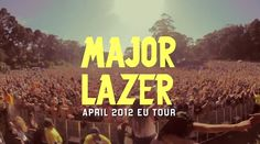 "New Music | Major Lazer ""Get Free"" feat. Amber Coffman  #music"