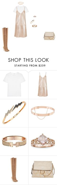 """""""same old song"""" by leafmarie ❤ liked on Polyvore featuring Yves Saint Laurent, Manokhi, Bee Goddess, Eddie Borgo, Ice, Balmain, Chloé and imthankfulfor"""